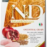 nd-low-grain_12kg_Adult-Medium-Chicken&Pomegranate@web
